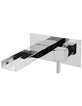 Pablo Cascade Wall Mounted Bath Filler Mixer Tap