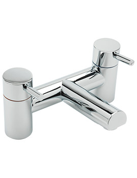 Piazza Deck Mounted Bath Filler Tap