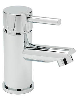 Sagittarius Piazza Monobloc Basin Mixer Tap With Sprung Waste