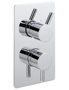 Piazza Concealed Thermostatic Shower Valve