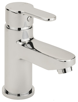 Plaza Monobloc Basin Mixer Tap With Sprung Waste