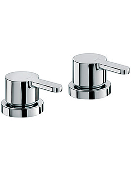 Plaza Pair Of 0.75 Inch Deck Mounted Side Valves