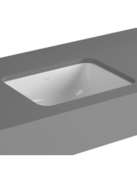 VitrA S20 Commercial 38cm Under-Counter Basin Square - 5473
