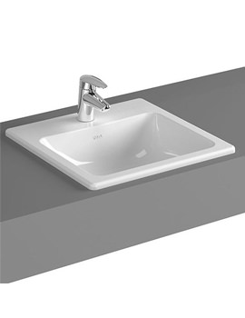 VitrA Commercial S20 450mm Countertop Basin 1TH - 5463