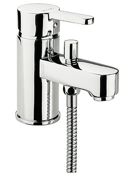 Plaza Monobloc Bath Shower Mixer Tap With No.1 Kit