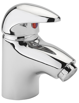 Prestige Cloakroom Monobloc Basin Mixer Tap With Sprung Waste