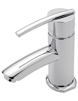 Pure Monobloc Basin Mixer Tap With Sprung Waste