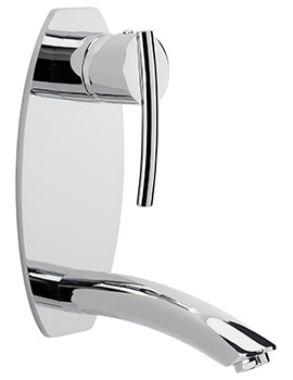 Pure Wall Mounted Basin Mixer Tap
