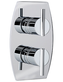Sagittarius Pure Concealed Thermostatic Shower Valve With 2 Way Diverter