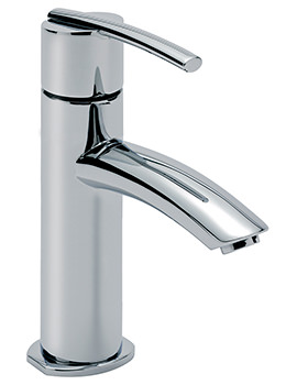 Pure Cloakroom Monobloc Basin Mixer Tap With Sprung Waste