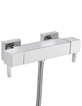 Arke Exposed Thermostatic Bar Shower Valve