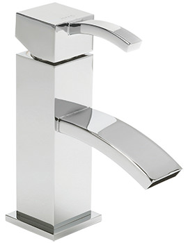 Arke Cloakroom Monobloc Basin Mixer Tap With Sprung Waste