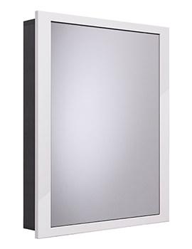 Scheme 600 x 120mm Recessed Cabinet - SCHCAB6120.GW