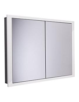 Scheme 1000 x 75mm Recessed Cabinet - SCHCAB1075.GW