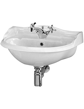 Ryther 500mm 1 Tap Hole Wall Hung Basin