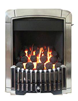 Related Caress Slide Control Contemporary HE Inset Gas Fire Chrome - FHEC6RSN