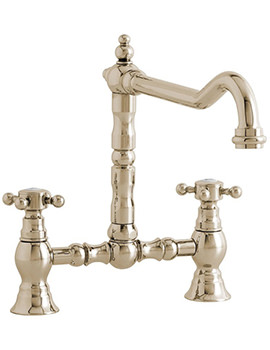 Camargue Bridge Kitchen Sink Mixer Tap