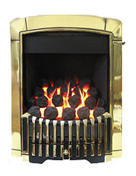 Caress Manual Control Contemporary HE Inset Gas Fire Brass - FHEC15MN