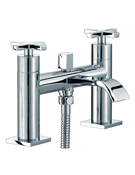 Surf Bath Shower Mixer Tap With Shower Kit Chrome - RDX007