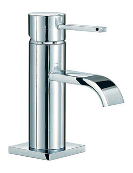 Mayfair Wave Mono Basin Mixer Tap Chrome - RDL009