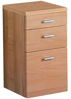 Ideal Standard Concept 300 x 300mm Base Unit With Drawers American Oak