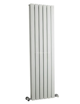 Sloane Double Panel Radiator 354x1500mm White - HLW43