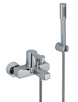 Lineare Bath Shower Mixer Tap With Shower Kit - 33850000