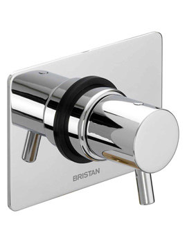 Bristan Prism Shower Diverter Tap (Three Outlets) - PM 5WDIV C