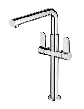 Vertico Monobloc Sink Mixer Tap Chrome Plated - VR SNK C