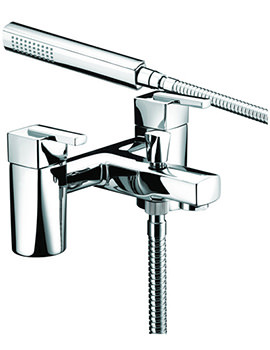 Qube Bath Shower Mixer Tap With Kit - QU BSM C