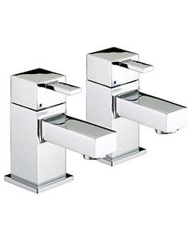 Quadrato Bath Taps - QD 3-4 C
