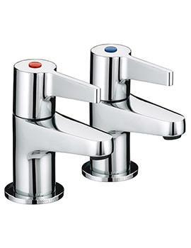 Design Utility Lever 3-4 Bath Taps - DUL 3-4 C