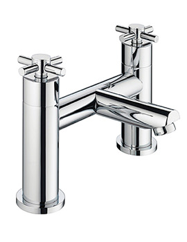 Decade Bath Filler Tap Chrome - DX BF C