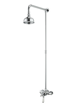 Regency Thermostatic Shower Valve With Rigid Riser Kit