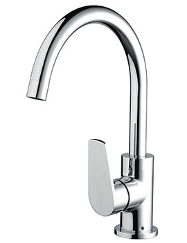 Raspberry Sink Mixer Tap