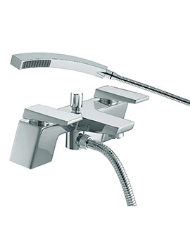 Sail Bath Shower Mixer Tap Chrome - SAI BSM C