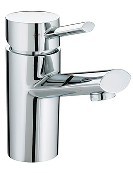 Oval 1 Hole Chrome Bath Filler Tap - OL 1HBF C