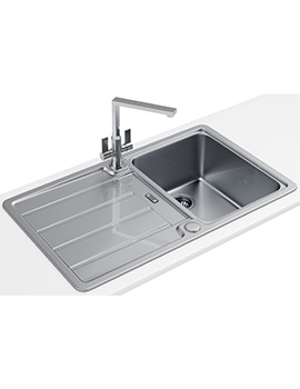 Hydros Designer Pack HDX 614 1.0 Bowl Stainless Steel Sink And Tap