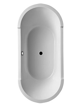 Related Duravit Starck Freestanding Bath With Panel And Frame - 700012