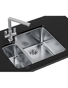 Related Franke Hydros Designer Pack HDX 160 34-15 Stainless Steel Sink And Tap