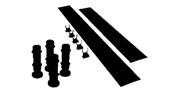 Aqualux Top Level Easy Plumb Kit