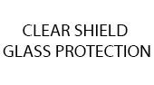 Clear shield