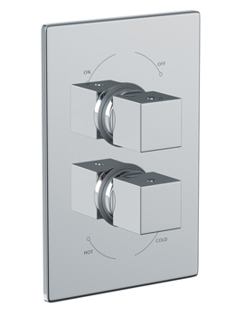 Zeal Concealed Thermostatic Shower Valve 1 Exit