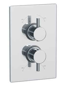 Related Abode Euphoria Thermostatic Shower Mixer Valve With 1 Exit - AB2202