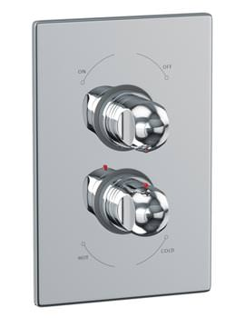 Euphoria Concealed Thermostatic Shower Mixer Valve - AB2201
