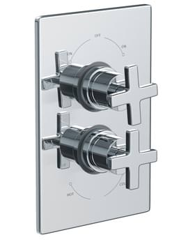 Euphoria Concealed Thermostatic Shower Mixer Valve - AB2218