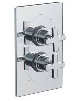 Euphoria Concealed Thermostatic Shower Mixer Valve - AB2218