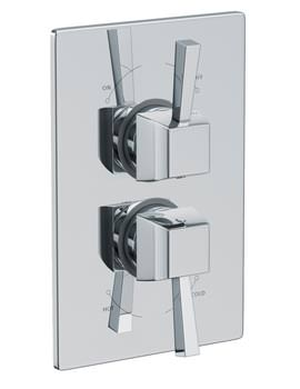 Euphoria Concealed Thermostatic Shower Mixer Valve - AB2216