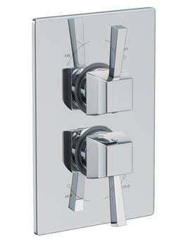 Euphoria Concealed Thermostatic Shower Mixer Valve - AB2216