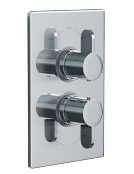 Related Abode Bliss Concealed Thermostatic Shower Valve 2 Exit - AB2227